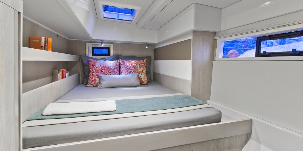 Rental Catamaran in Victoria - Leopard Moorings 514 PC