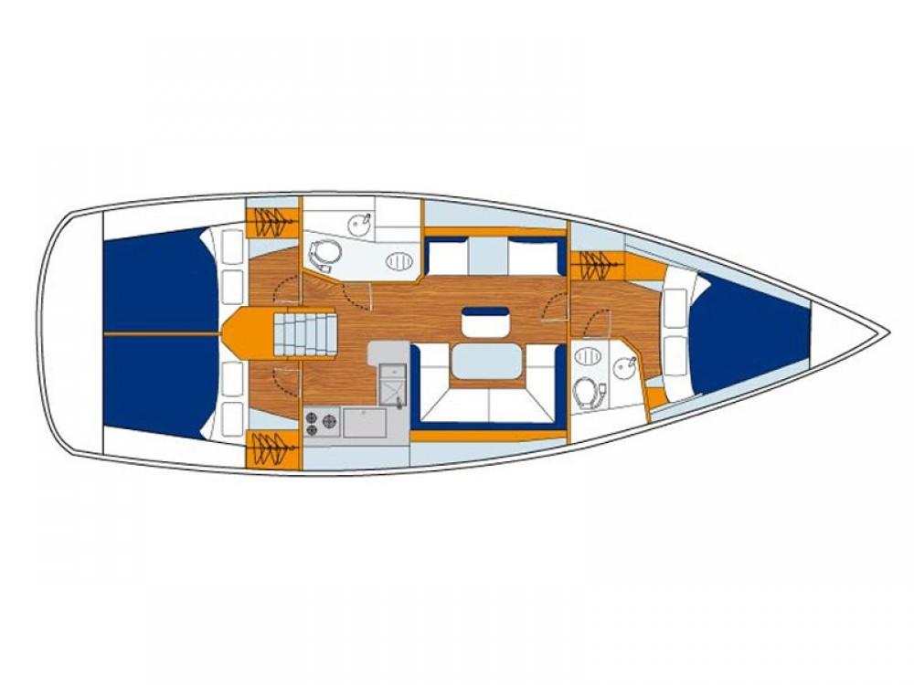 Rental Sailboat in Road Town - Jeanneau Sunsail 41
