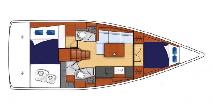 Boat rental Bénéteau Moorings 382 in  on Samboat