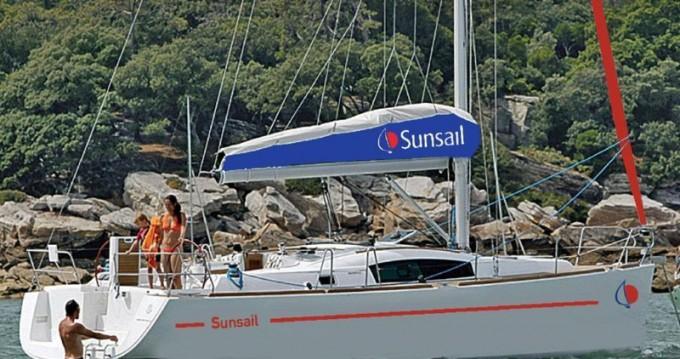 Boat rental Saint George cheap Sunsail 41.3