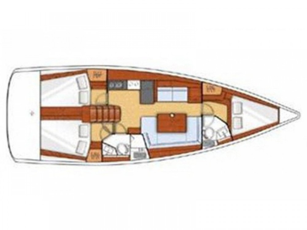Jeanneau Sunsail 41.3 between personal and professional
