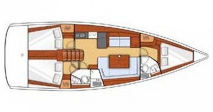 Rental Sailboat in Saint George - Jeanneau Sunsail 41.3