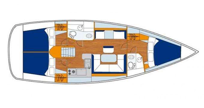 Boat rental Jeanneau Sunsail 41 in Marina on Samboat