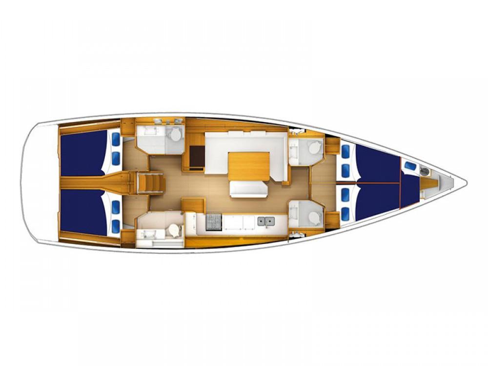 Boat rental Jeanneau Moorings 51.4 in Marigot on Samboat