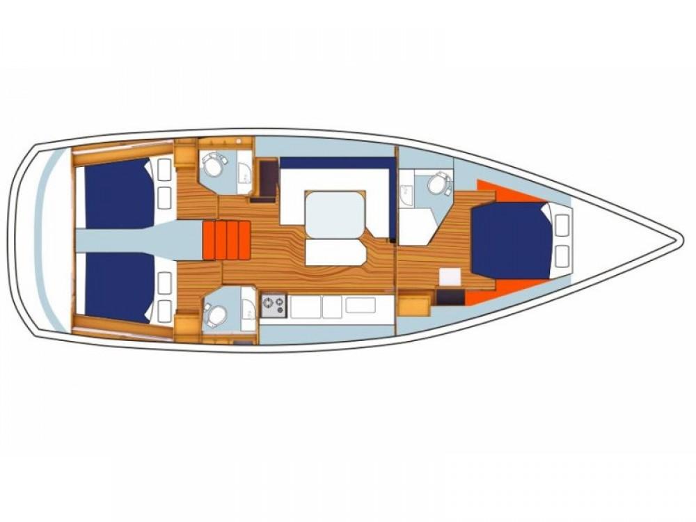 Rental yacht Road Town - Jeanneau Sunsail 47/3 on SamBoat