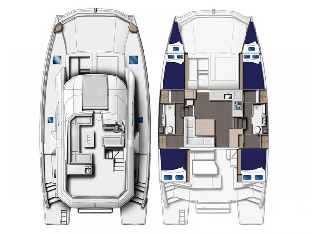 Boat rental Leopard Moorings 434 PC in Kontokali on Samboat