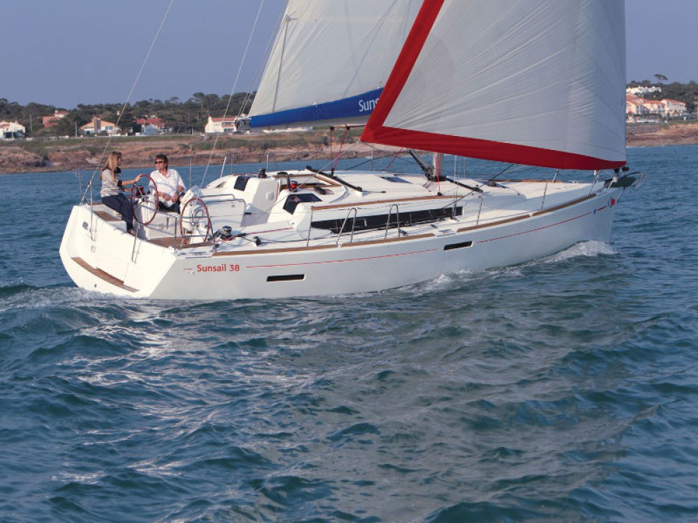 Boat rental Lefkada cheap Sunsail 38