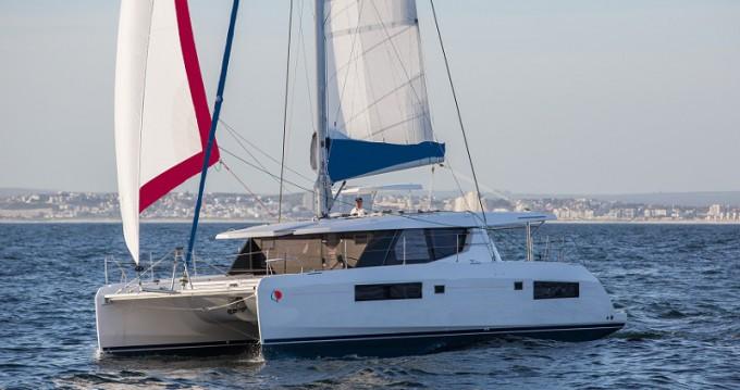 Rental Catamaran in Gouvia - Leopard Sunsail 454L-10