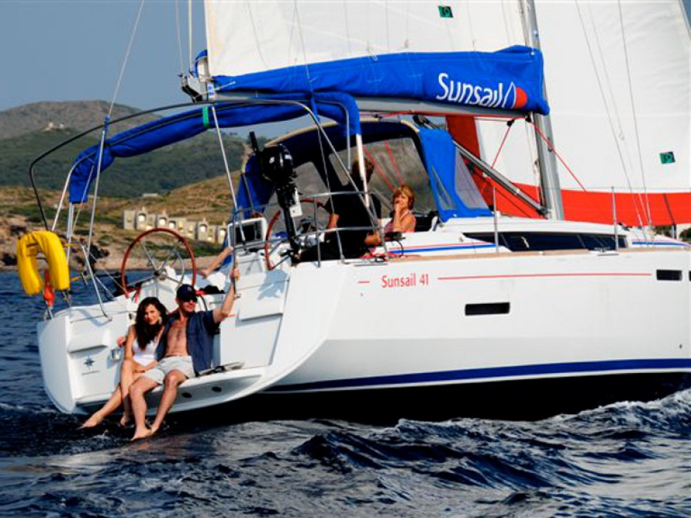 Jeanneau Sunsail 41 between personal and professional