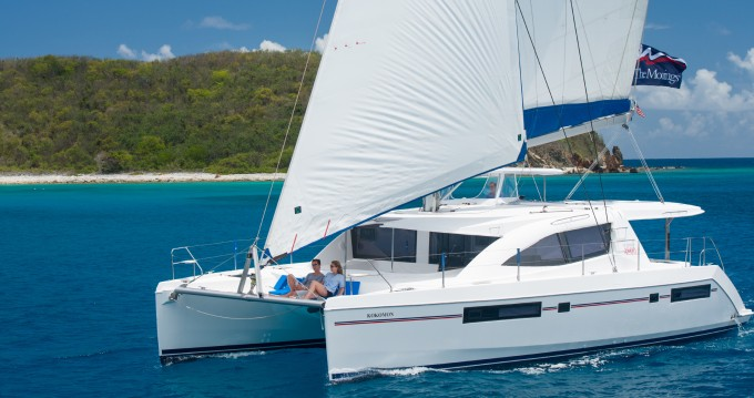 Leopard Moorings 4800 between personal and professional Ao Po