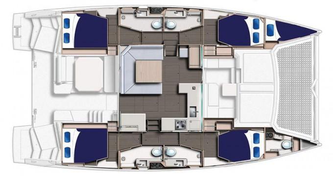 Rental Catamaran in Raiatea - Leopard Moorings 4500