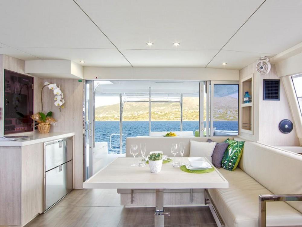 Rental Catamaran in  - Leopard Sunsail 404