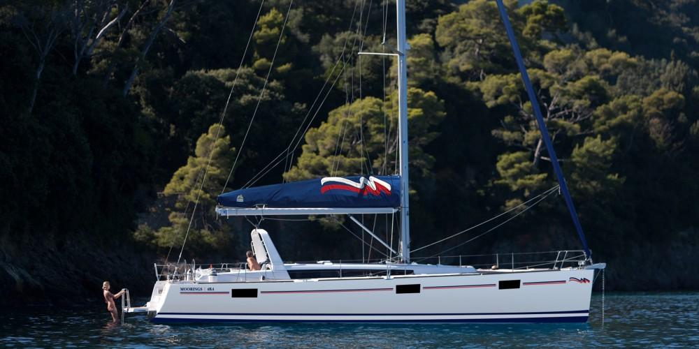 Rental Sailboat in Marina Gouvia - Bénéteau Moorings 48.4