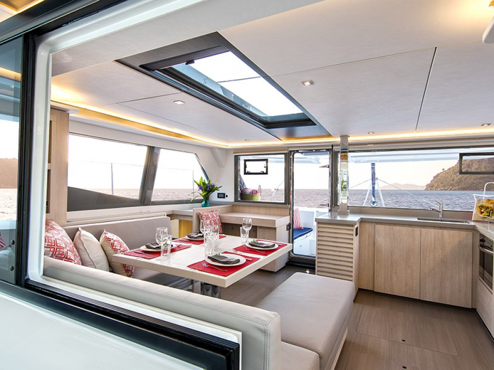 Leopard Moorings 4500 between personal and professional Victoria