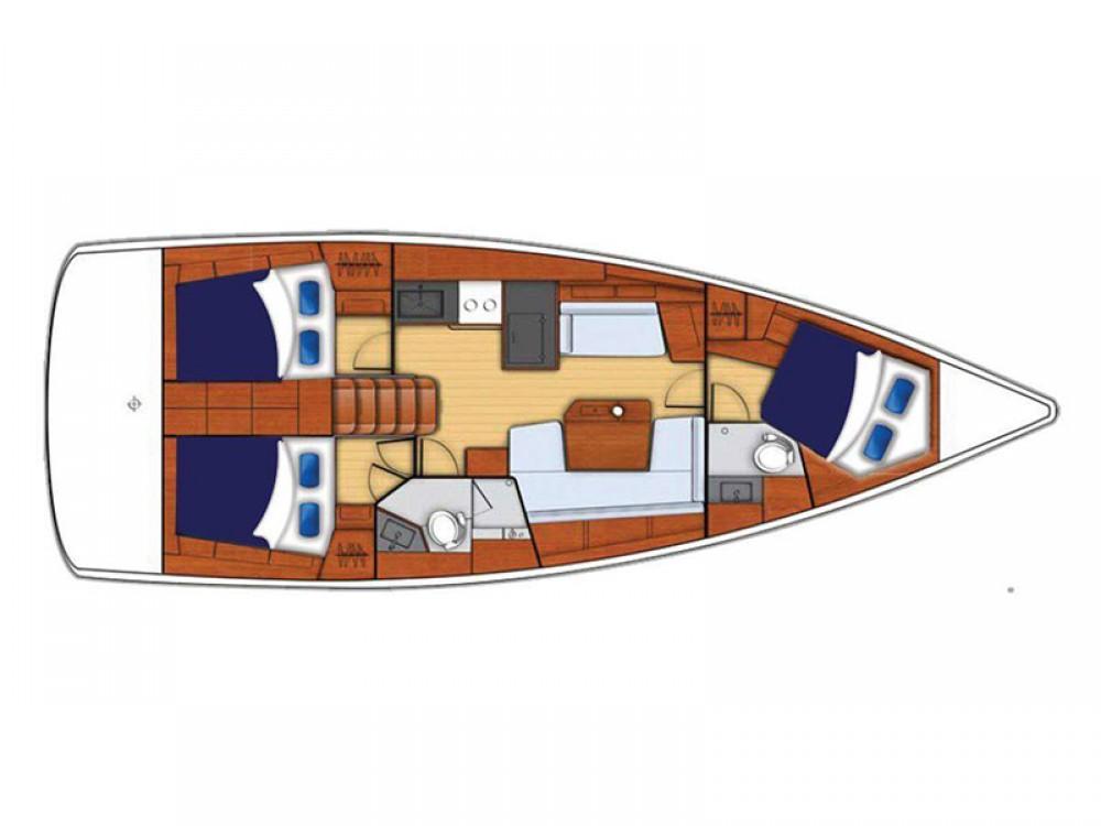 Rental Sailboat in  - Bénéteau Moorings 42.1
