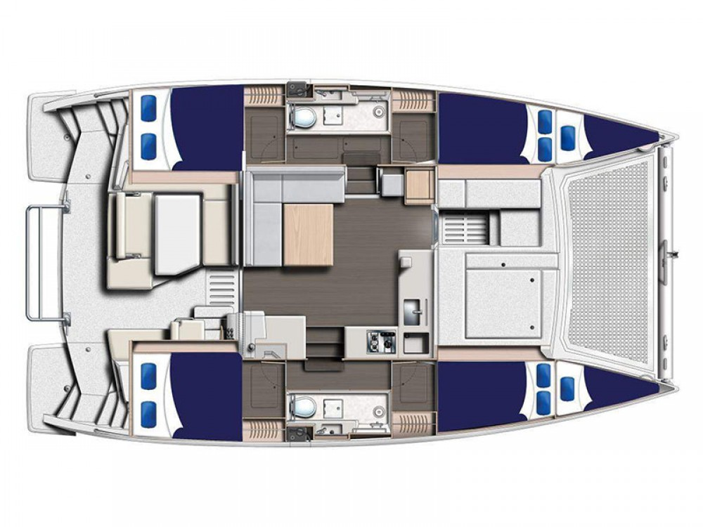 Leopard Moorings 4000 between personal and professional Victoria