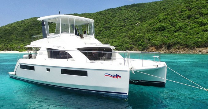 Leopard Moorings 433 PC between personal and professional Road Town