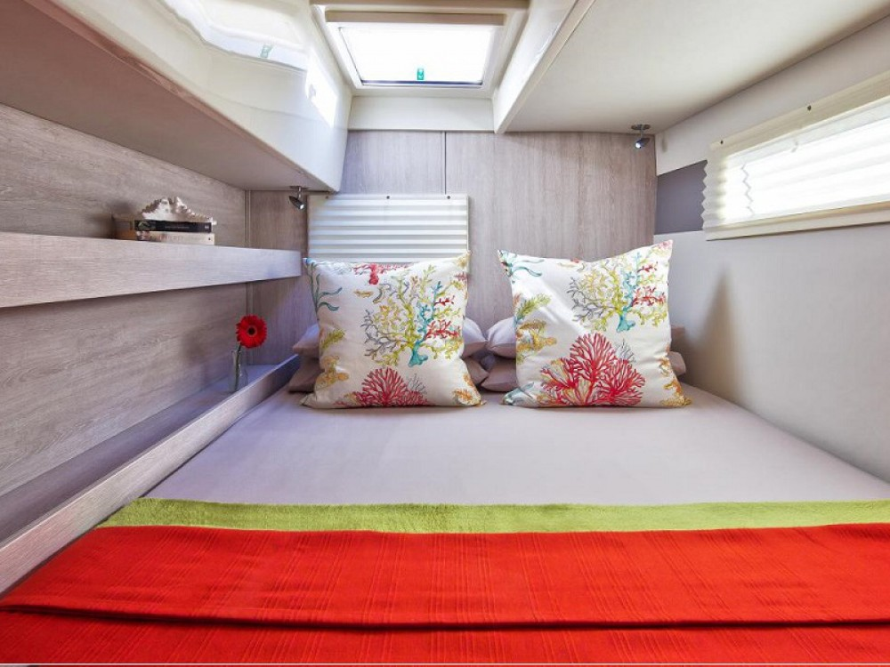 Leopard Sunsail 404 between personal and professional Palma