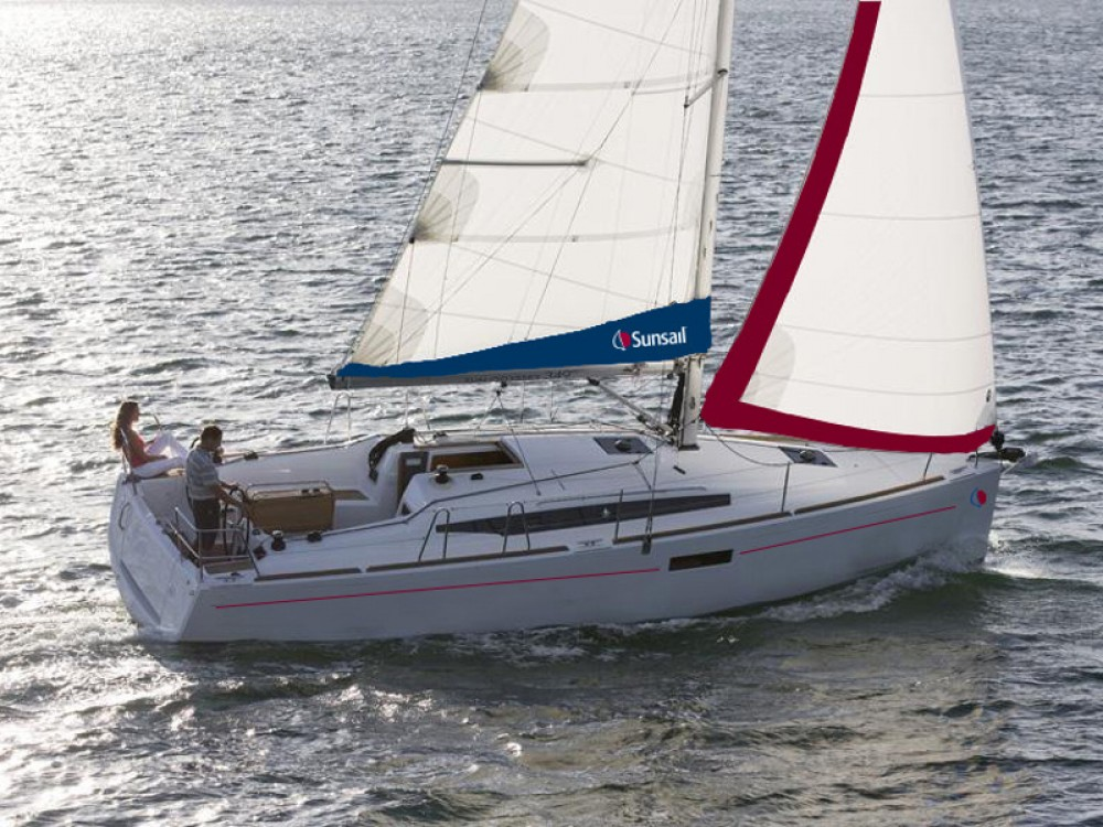 Jeanneau Sunsail 34- 2/1 between personal and professional Lefkada