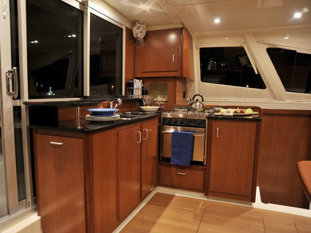 Leopard Sunsail 444 between personal and professional Victoria