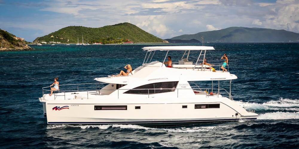 Rental Catamaran in Marina - Leopard Moorings 514 PC