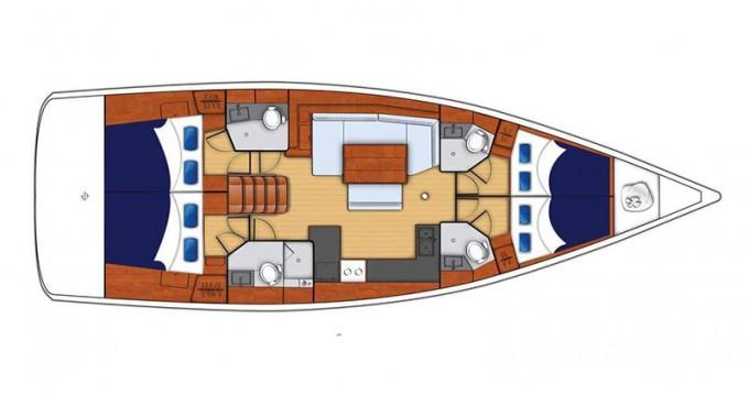 Boat rental Bénéteau Moorings 48.4 in Rodney Bay on Samboat