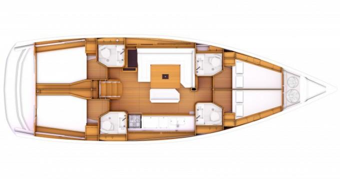 Rental yacht Municipal Unit of Lefkada - Jeanneau Sunsail 47-4 on SamBoat