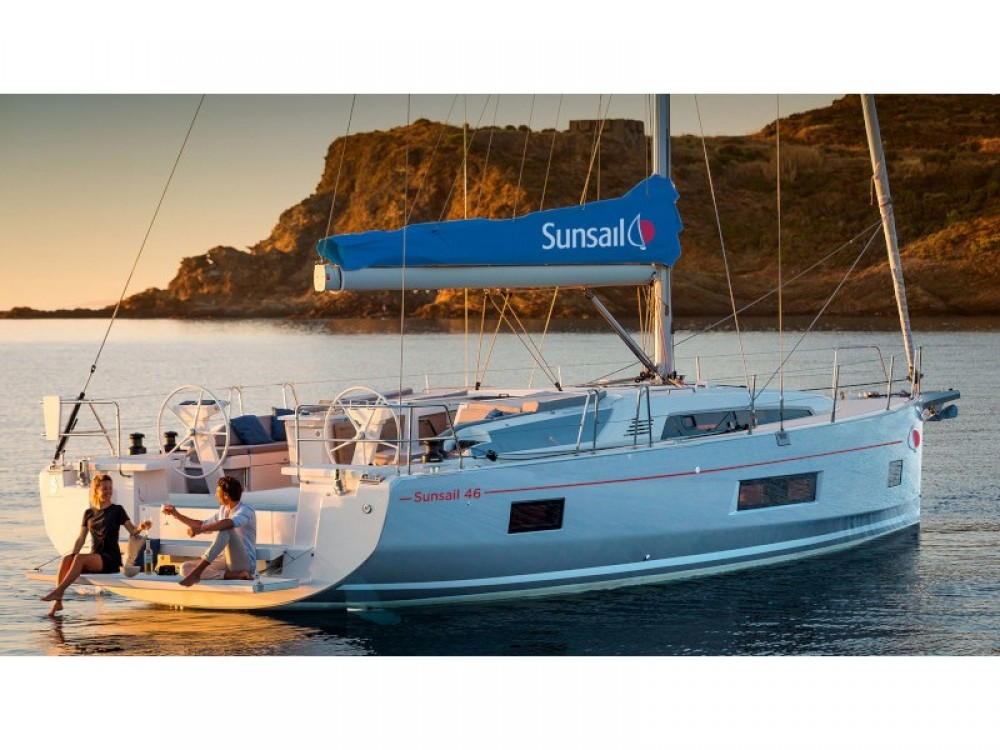 Bénéteau Sunsail 46 Mon between personal and professional Road Town