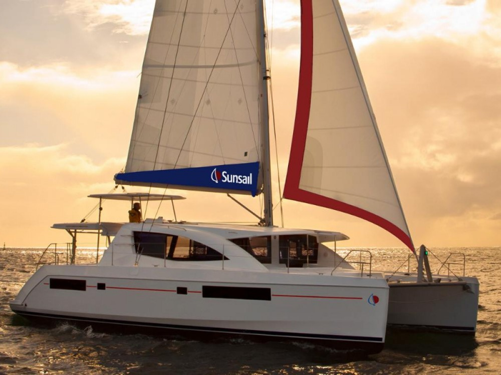 Hire Catamaran with or without skipper Leopard Road Town