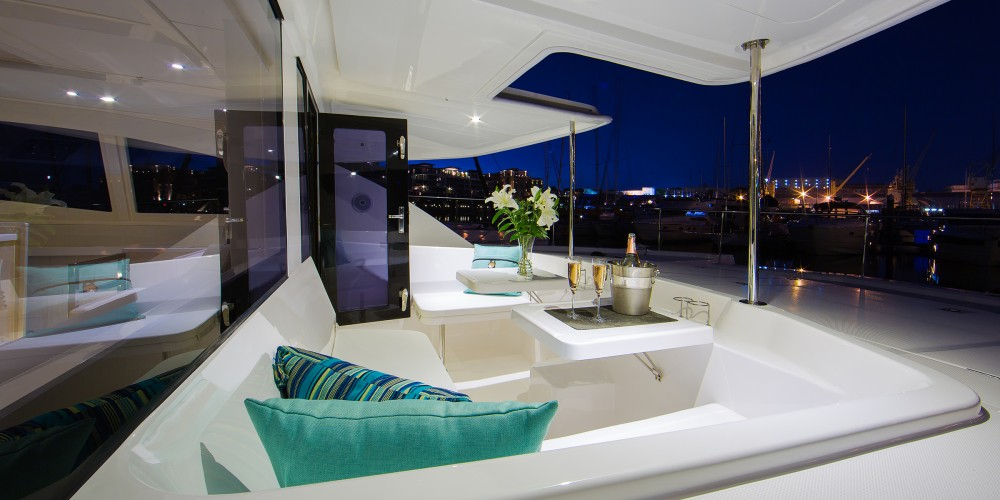 Rental Catamaran in Marigot - Leopard Moorings 514 PC