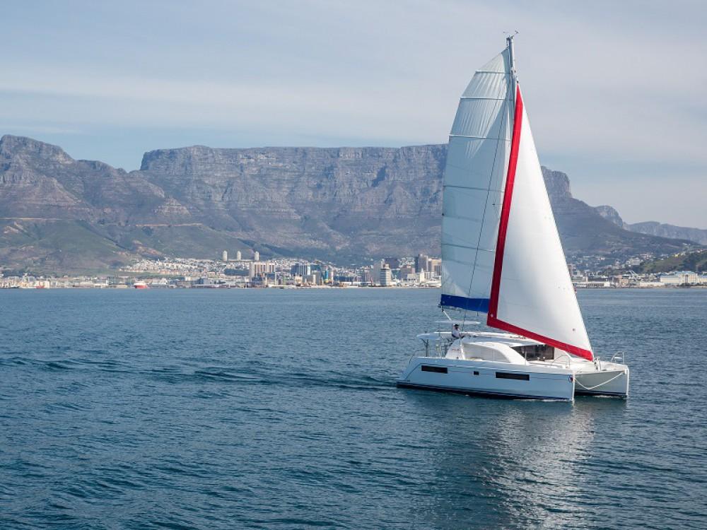 Catamaran for rent Zea Marina at the best price