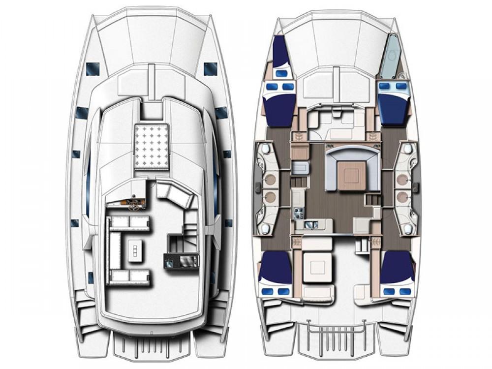 Catamaran for rent Marsh Harbour at the best price