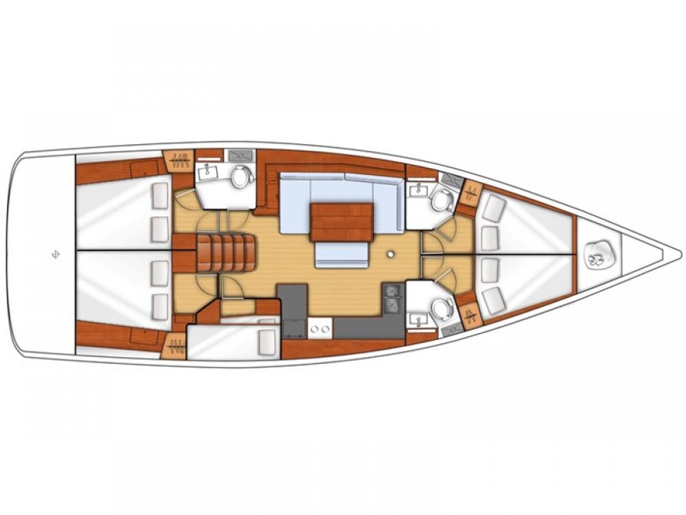 Rental yacht Cannigione - Bénéteau Moorings 48.4 on SamBoat