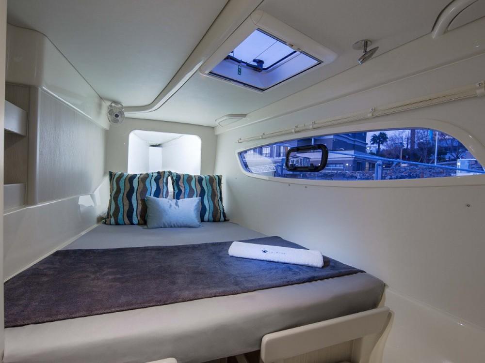 Rental Catamaran in Marina Gouvia - Leopard Sunsail 444