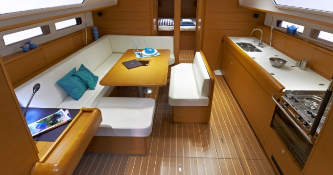Rental yacht Gouvia - Jeanneau Sunsail 47 on SamBoat