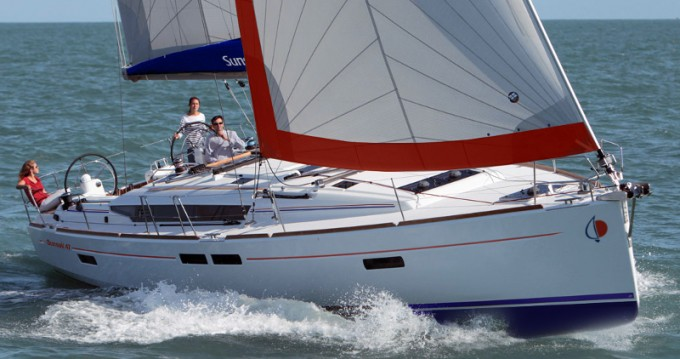 Boat rental Gouvia cheap Sunsail 47
