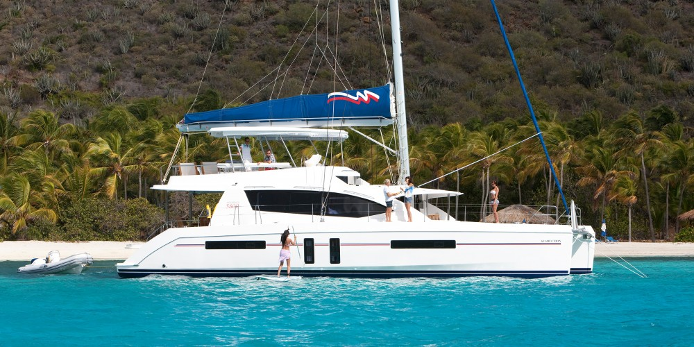 Leopard Moorings 5800 between personal and professional Victoria