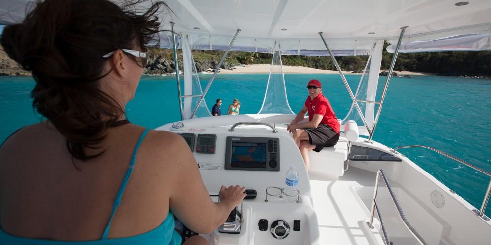 Rental Catamaran in Marina Gouvia - Leopard Moorings 394 PC