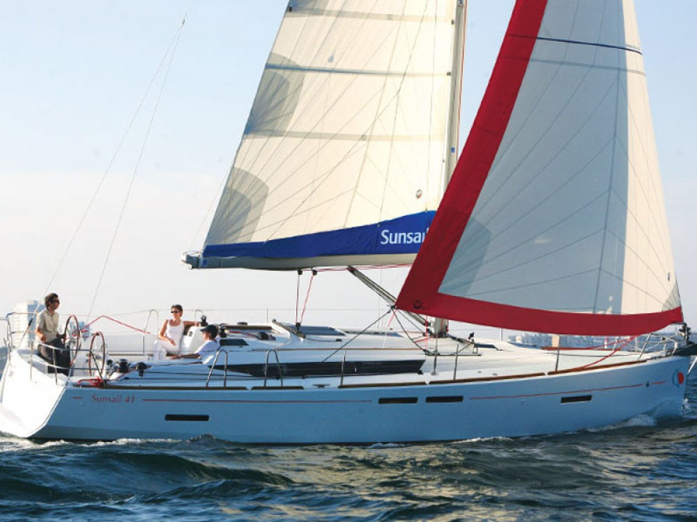 Jeanneau Sunsail 41 between personal and professional Castries
