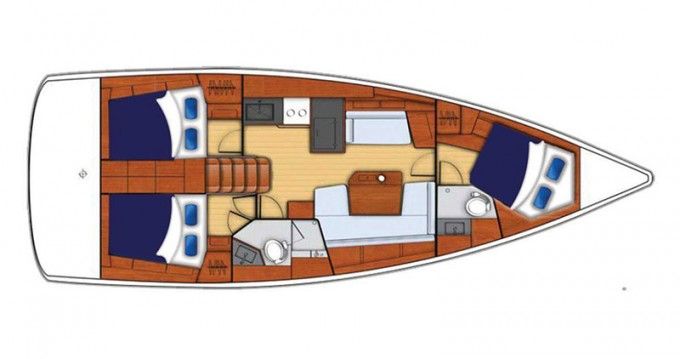 Hire Sailboat with or without skipper Bénéteau Saint George