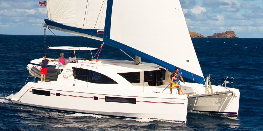 Rental Catamaran in Procida - Leopard Moorings 4800