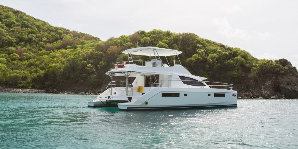 Leopard Moorings 514 PC between personal and professional Road Town