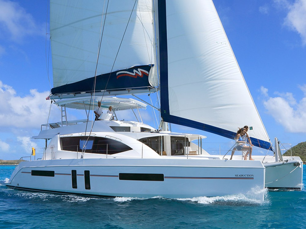 Leopard Moorings 5800 between personal and professional Road Town