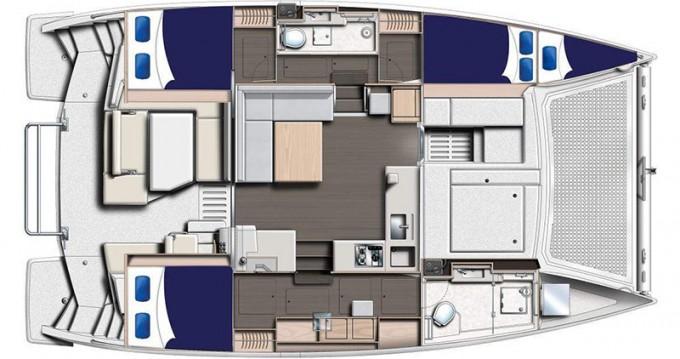 Boat rental Rodney Bay cheap Moorings 4000/3