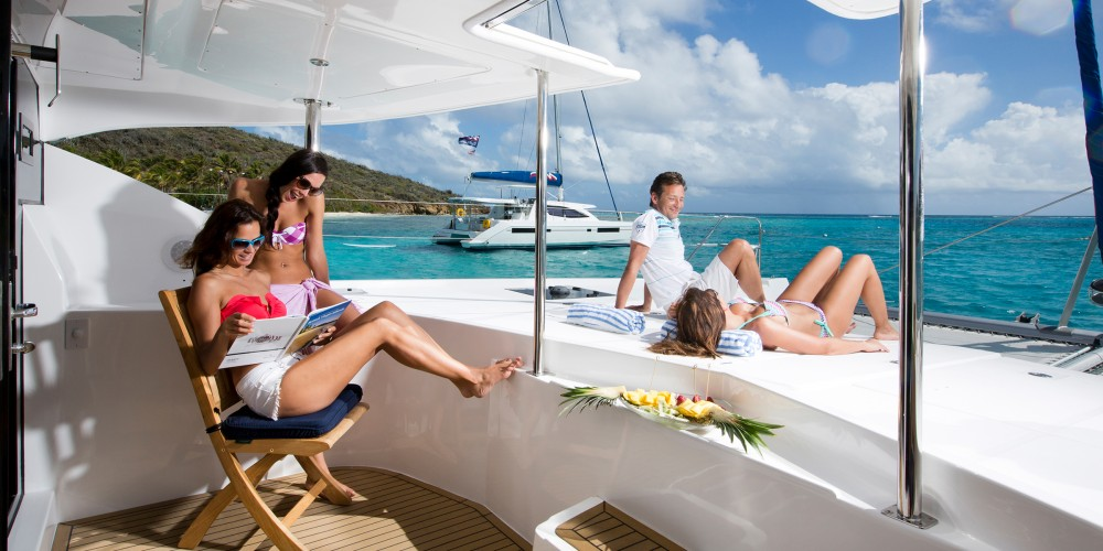 Leopard Moorings 5800 between personal and professional Castries