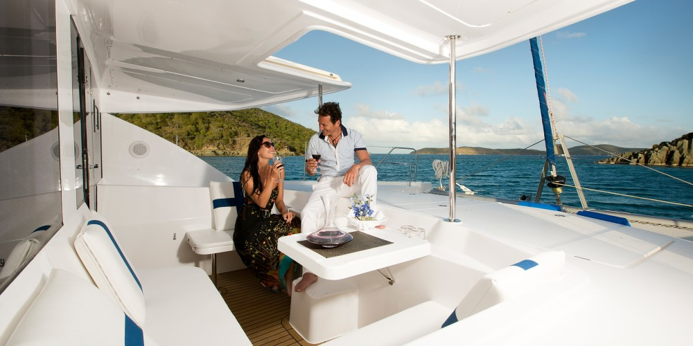 Hire Catamaran with or without skipper Leopard Piraeus