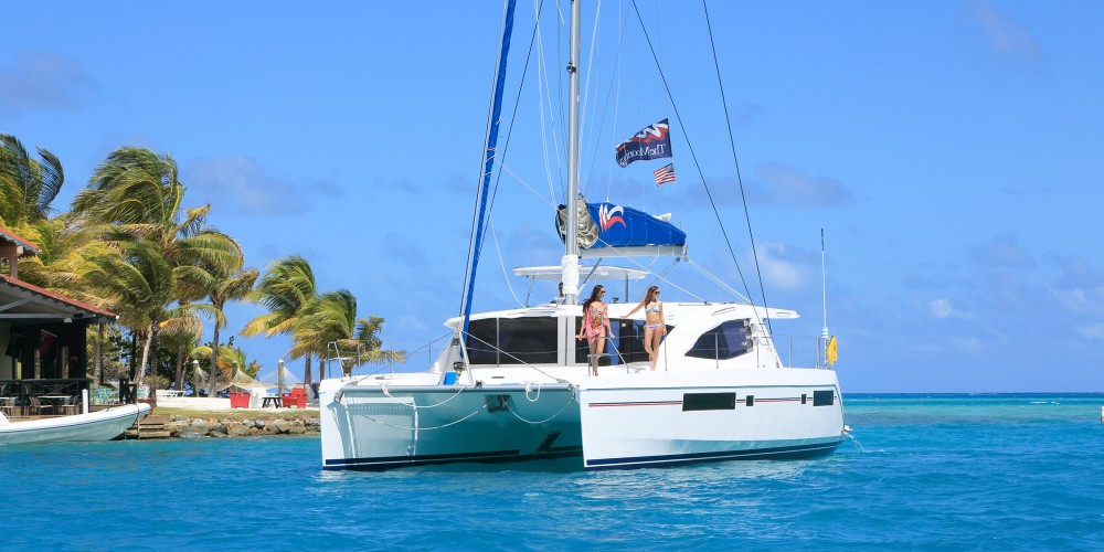 Rental Catamaran in  - Leopard Moorings 4800