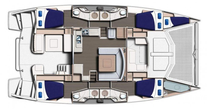 Leopard Moorings 4800 between personal and professional Road Town