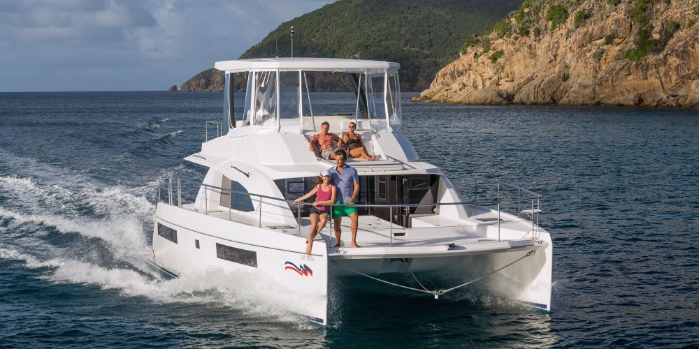 Rental Catamaran in Kontokali - Leopard Moorings 434 PC