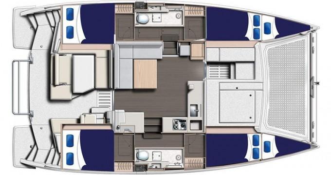 Rental yacht Saint George - Leopard Moorings 4000 on SamBoat